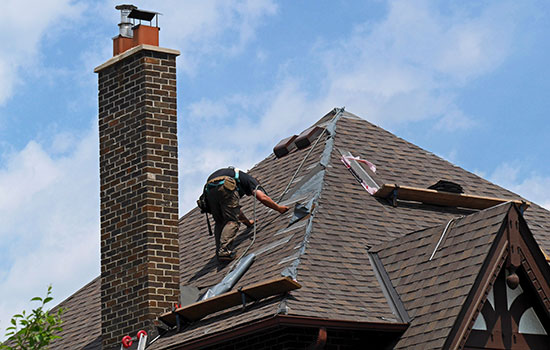 Residential roofing maintenance in anderson